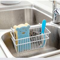 Pop Kitchen Sponge Holder Sink Caddy Brush Soap Dishwashing Liquid Drainer Rack