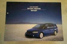 1998 Mugen Honda Odyssey Prestige Catalog Brochure 1g