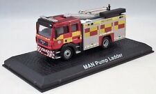 1:76 Scale Atlas Editions MAN Pump Ladder Fire Appliance - Durham & Darlington