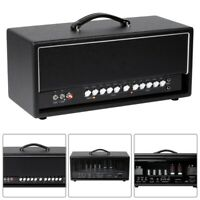 50W Tube 2-Channel All Tube Guitar Amp Amplifier Head with Spring Reverb