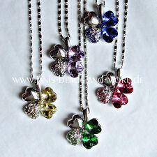 Markenlose Modeschmuck-Halsketten & -Anhänger mit Glücks Herz für Damen