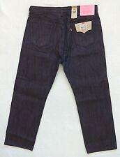 Levis 501 Shrink to Fit Jeans Mens Size 38x30 Purple Black Rigid Denim