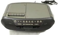 Sony Cd R/Rw Play Back Radio Cassette Recorder