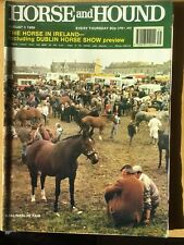 HORSE AND HOUND - 3 AUGUST 1989 - THE HORSE IN IRELAND - DUBLIN HORSE SHOW