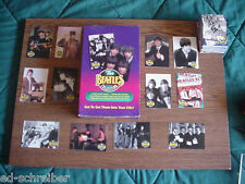 Beatles 1993 Full Set of 220 Cards With  EMPTY  DISPLAY  BOX  By the River Group