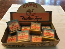 Camel Friction Tape Original Store Display With 12 Unopened Boxes