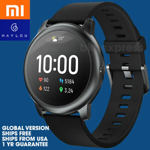 Haylou Xiaomi Solar LS05 Smart Watch 30 Day Battery Life iOS Android Metal Body