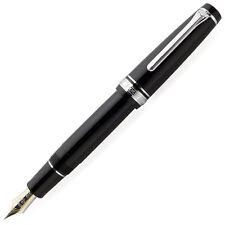 New Sailor Fountain Pen Professional Gear 21K Silver Nib M Black 11-2037-420 F/S