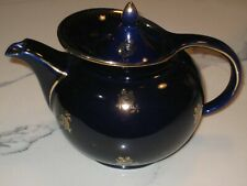 Hall Teapot Cobalt Blue Windshield Style 8 Cup