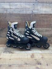 RARE NIKE Zoom Air Hockey Rollerblades Inline Roller Skates HR0008-001 Size 8