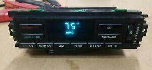 1993 1994 93 TOWN CAR EATC AUTO AC HVAC CLIMATE CONTROL F5PF-18C612-ABSR GREEN