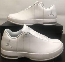 8b7dddaa66a NEW Nike Air Jordan TE Team Elite 2 Low Size:9 White Metalic Silver AO1696