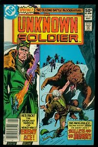 UNKNOWN SOLDIER #251, DC COMICS, 1981, ENEMY ACE BEGINS, DICK AYERS, JOE KUBERT!
