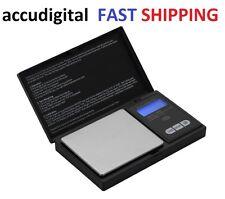 1000g X 0.1g Digital Pocket Scale Portable Gram ACCUDIGITAL Kitchen Jewelry Herb