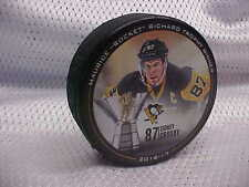 "2016-17 NHL Maurice ""Rocket"" Richard Trophy Winner Sidney Crosby Souvenir Puck"