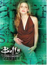 BUFFY SEASON 6 PROMO CARD B6-UK RARE