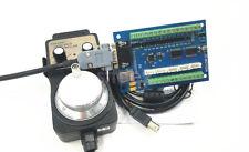 New 5 Axis USB MACH3 Interface Board w/ MPG Handwheel For CNC Engraving Machine
