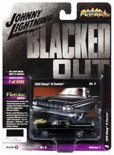 1959 Chevrolet El Camino  Black /Wood **RR** Johnny Lightning 1:64 NEU+OVP