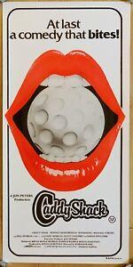 Caddyshack Australia Lobby Daybill Movie Lips Poster At Last a Comedy That Bites
