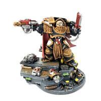 Warhammer 40k Space Marine Capitão Em Terminator Armour-Novo Na Haste
