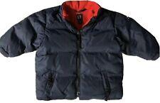 Baby Gap Puffer Jacket Boys 12-18 Months Navy Blue/ Red