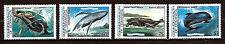 DOMINICA serie neuve #791-794: POISSONS les grands Cétacés de mer   E22