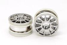 Tamiya 54824 M-Chassis 11-Spoke Wheels (Chrome Plated, 2Pcs) (Dancing Rider) NIP