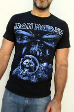 Iron Maiden Final Frontier 2011 Black Rock T-shirt coton métal S GILDAN