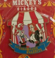 Disney Mickey's CIRCUS Program Acts JESSICA & ROGER Rabbit Pin LE 500 WDW WFRR