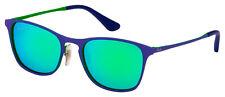 Ray-Ban Junior Sunglasses RJ 9539S 255/3R 48 Blue / Green | Green Mirror Lens