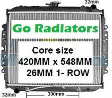 RADIATOR HOLDEN RODEO 1988-1997 TF 2.6ltr PETROL RADIATOR (635mm mounting points