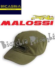 6145 - CAPPELLO CAPPELLINO VERDE MILITARE MALOSSI - IDEA REGALO BICASBIA