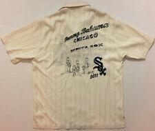 2011 Tommy Bahama Ltd Ed #745 Silk Chicago White Sox Mlb Baseball Shirt M $250