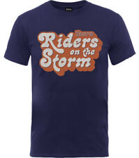 The Doors 'Riders On The Storm Logo' T-Shirt - NEW & OFFICIAL!