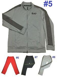 1548 NEW Emporio Armani EA7 Basketball Tracksuit Training Jacket Pants S M 2XL