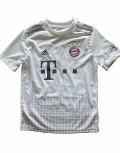 Kid's Bayern Munich Football Shirt - Adidas Away Kit - 9-10 yrs - Gnarby 22  NWD