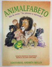 """ANIMALFABETO De la serie """"Yo pienso y aprendo"""" Libros en Espanol"""