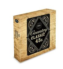 Classic 45's: Classic Country [Box] by Various Artists (Vinyl, Sep-2016, 10 Discs, Demon Records (UK))