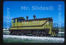 Original Slide Rawhide Short Line Clean Paint NW2 1087 Wellington CO 1982