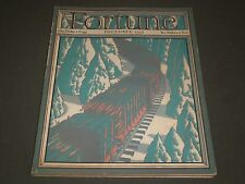 1931 DECEMBER FORTUNE MAGAZINE - GREAT COVER & ADS - F 23