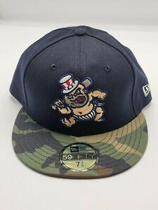 New York Yankees Baby Bombers SWB Railriders Hat 7 3/8 Rare BRAND NEW