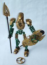 Lego Bionicle IRUINI (8762) Toa Hagah Warrior with all Weapons