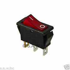 Rocker Switch Lighted On Off for Electric Fireplaces FMI Desa 120927-24 120 volt