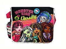 Black Varsity Monster High Messenger Bag - Monster High Laptop Licensed Product