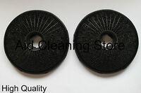 Hygena Diplomat Brandt DeDietrich Carbon Charcoal Cooker Hood Filter Pack 2 5002