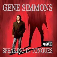 GENE SIMMONS Speaking in Tongues CD