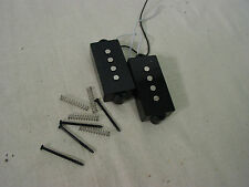 FENDER SQUIER PRECISION BASS PICKUP SET ELECTRIC P-BASS BULLET GUITAR