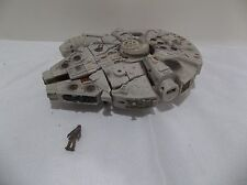 #s STAR WARS MILLENNIUM FALCON CHEWBACCA HAN SOLO TRANSFORMER ELECTRONIC lights