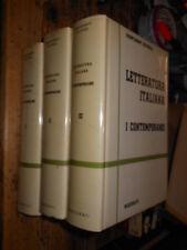 Letteratura Italiana I contemporanei 3 vol. Marzorati 1969 L11 ^