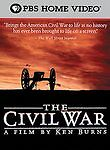 The Civil War - A Film by Ken Burns, Very Good DVD, David McCullough, Sam Waters